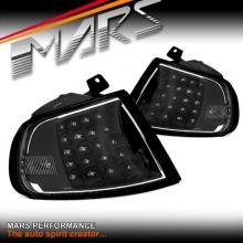 JDM Black LED Corner Indicator Turn Signel Lights for Honda CIVIC EG 3D 92-95