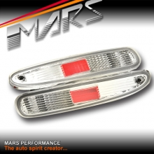 Clear JDM Rear Bumper bar Reverse Signal lights for MAZDA RX-7 97-02 FD3S