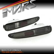 Smoked JDM Rear Bumper bar Reverse Signal lights for MAZDA RX-7 97-02 FD3S