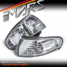 Crystal Clear Side Corner Parker Lights for Nissan 200SX Silvia S14 Series 1 93-96