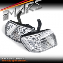 Crystal Clear Side Corner Parker Lights for Nissan 200SX Silvia S14 Series 2 97-98