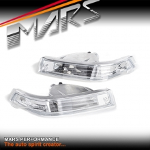 Crystal Clear Bumper bar Turn Signal Indicator Lights for Nissan 200SX Silvia S14 97-98