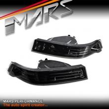 Smoked Bumper bar Turn Signal Indicator Lights for Nissan 200SX Silvia S14 97-98