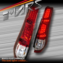 Clear Red LED Tail Lights for Nissan X-Trail T31 07-10