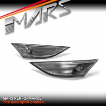 Full Smoked Side Indicator Turn Signal Marker lights for Porsche 911 991 CARRERA , 12-15 pre update