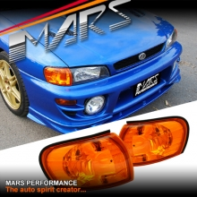 JDM Amber Side Corner Parker Lights for Subaru Impreza 93-00 GC8 & GF8