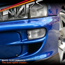 Crystal Bumper bar Turn Signal Indicator Lights for Subaru Impreza 99-00 GC8 GF8