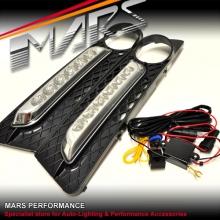 MARS Bumper Bar LED DRL Day-Time Fog Lights for BMW 5-Series E60 E61