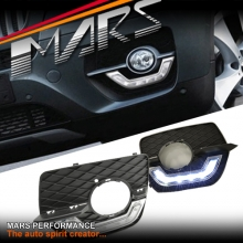 BMW X6 E71 MARS Bumper Bar LED DRL Day-Time Fog Lights Cover Grille