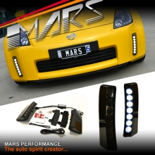 MARS Bumper Bar LED DRL Day-Time Running Lights for Nissan 350Z Z33 03-05 Fairlady Z