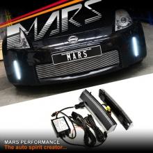 MARS Bumper Bar LED DRL Day-Time Running Lights for Nissan 350Z Z33 06-08 Fairlady Z