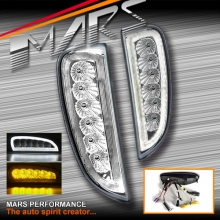 Bumper Bar Driving DRL Lights with Indicator Turn Signal for Porsche Cayenne 957 06-10