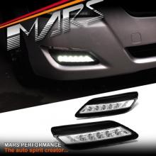 MARS Bumper Bar LED DRL Day-Time Fog Lights for Toyota Aurion 07-09