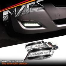 MARS Bumper Bar LED DRL Day-Time Fog Lights for Toyota Aurion 10-12