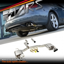 MARS Dual Outlet Twin Muffler Exhaust Cat-Back System for AUDI A4 B8 & A5 1.8T 2.0T