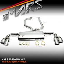MARS Performance Cat-Back Exhaust System & Muffler for AUDI TT 8J 06-13