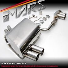 MARS Dual Outlet Twin Muffler Exhaust for BMW E85 E86 Z4