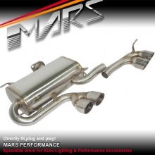 M3 Style Twin Outlet Muffler Exhaust for BMW E90 L6 & L4