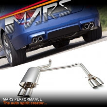 M5 Style Twin Outlet Muffler Exhaust for BMW 5-Series F10 L6 & 2.0T Models