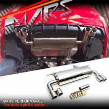 MARS M Tech Sports Twin Outlet Muffler Exhaust for BMW 3-Series F30 F31 & 4 Series F32 F33 F36