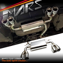F80 M3 F82 M4 Style Twin Outlet Muffler Exhaust for BMW 3-Series F30 F31 & 4-Series F32 F33 F36