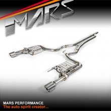 MARS Performance Exhaust Cat-Back System with volume control valve for Ford Mustang FM 2015-2017 ecoboost 2.3T