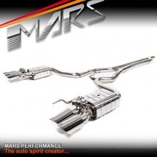 MARS Performance Twin exhaust Cat-Back System with volume control valve for Ford Mustang FM 2015-2017 ecoboost 2.3T