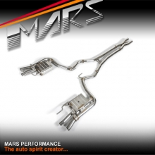 MARS Performance Twin exhaust Cat-Back System with volume control valve for Ford Mustang FM 2015-2017 V8 5.0