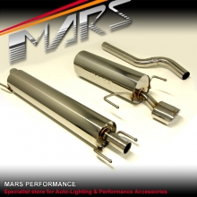 MARS Performance Muffler Exhaust System for Holden Opel Astra H 04-12