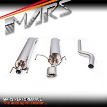 MARS Full Stainless Exhaust Muffler for Holden / Opel Astra H & AH