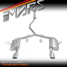 Mars Performance RR Style Cat-Back with Dual muffler Exhaust system for Honda Civic FC Sedan MY16+