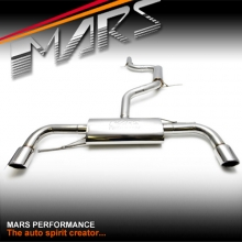 MARS Full Stainless Exhaust Muffler and Cat Back for AUDI A3 8P VW Scirocco Golf V VI GTi