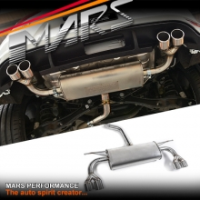 MARS R-20 Style Full Stainless Exhaust Muffler for VW VolksWagen Golf VII 7 & GTi