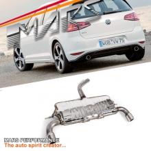 MARS GTI Style Exhaust Muffler for VW VolksWagen Golf VII 7 1.4T