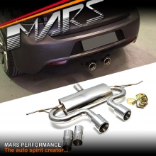 VW R20 R32 Style Cat Back Muffler Exhaust system for VolksWagen GOLF V 5 & VI 6