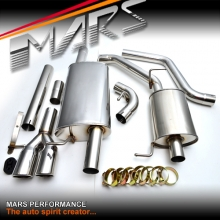 MARS Full Stainless Exhaust Muffler and Cat Back for VW VolksWagen Transporter Van T5