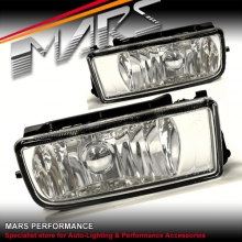 Crystal Clear M3 Style Fog Lights for BMW 3 Series E36 Sedan Coupe Convertible