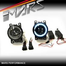 MARS CCFL Angel Eyes Projector Bumper Bar Driving Fog Lights for Ford Ranger & Territory