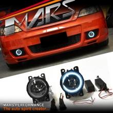 MARS CCFL Angel Eyes Projector Bumper Bar Driving Fog Lights for Holden Astra G H J