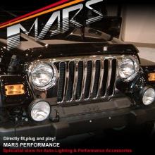 MARS Bumper Bar Spots Driving Fog Lights for Jeep Wrangler