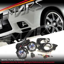 MARS Bumper Bar Driving Fog Lights for Mitsubishi ASX 10-11