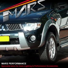 MARS Bumper Bar Driving Fog Lights for Mitsubish Triton 06-08