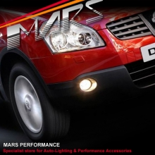 MARS Bumper Bar Driving Fog Lights for Nissan QASHQAI & DUALIS 2007-2009