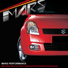 MARS Bumper Bar Driving Fog Lights for Suzuki Swift 07-10
