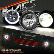 MARS High Power LED Angel Eyes Bumper Bar Driving Fog Lights for Suzuki Swift & Grand Vitara