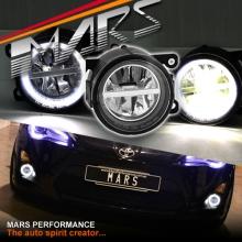 MARS High Power LED Angel Eyes Bumper Bar Driving Fog Lights for TOYOTA 86 GT GTS & SUBARU BRZ