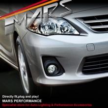MARS Bumper Bar Driving Fog Lights for Toyota Corolla Sedan 11-13