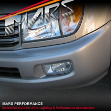 MARS Bumper Bar Driving Fog Lights for Toyota LANDCRUISER FJ100 98-07