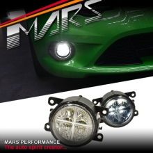 MARS High Power LED DRL Bumper Bar Driving Fog Lights for Toyota Land Cruiser Prado 09-14