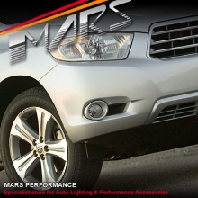MARS Bumper Bar Driving Fog Lights for Toyota HighLander & Kluger 07-10